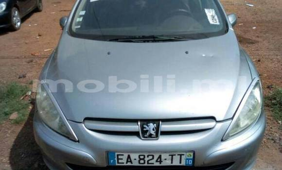 Acheter Occasion Voiture Peugeot 307 Gris à Bamako au Mali
