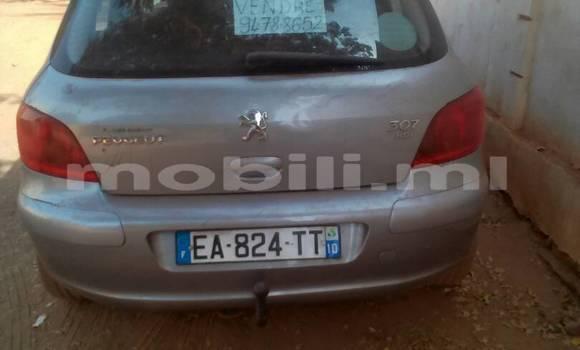 Acheter Occasions Voiture Peugeot 307 Gris à Bamako au Mali