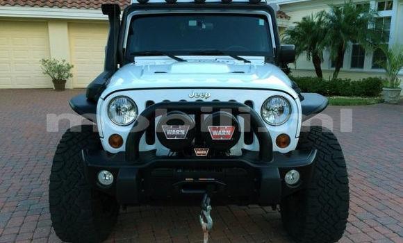 Acheter Occasion Voiture Jeep Grand Cherokee Blanc à Bamako au Mali