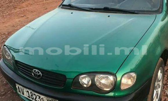 Buy Used Toyota Corolla Green Car in Bamako in Mali