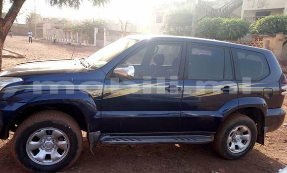 Buy Used Toyota Land Cruiser Prado Black Car in Bamako in Mali