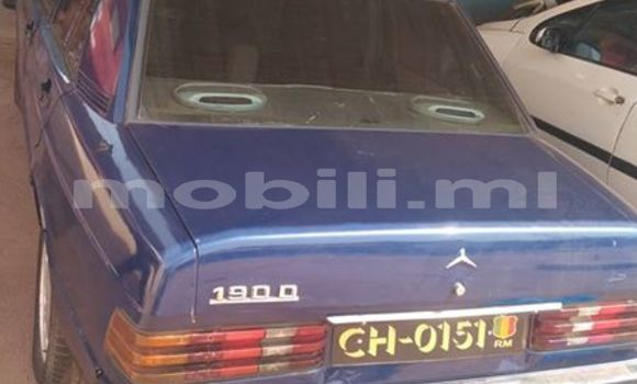 Buy Used Mercedes‒Benz 190 Blue Car in Bamako in Mali