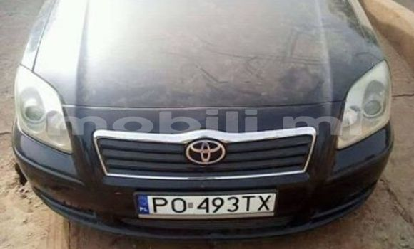 Buy Used Toyota Avensis Black Car in Bamako in Mali