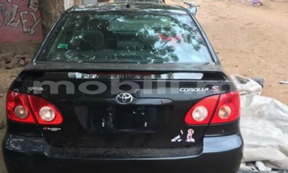 Buy Used Toyota Corolla Black Car in Bamako in Mali