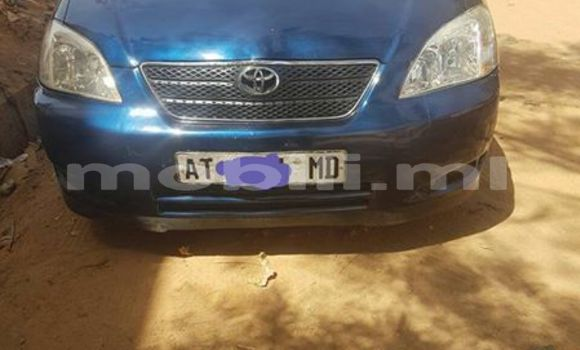 Buy Used Toyota Corolla Blue Car in Bamako in Mali