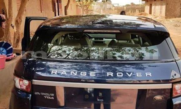 Acheter Occasion Voiture Land Rover Range Rover Evoque Bleu à Bamako au Mali