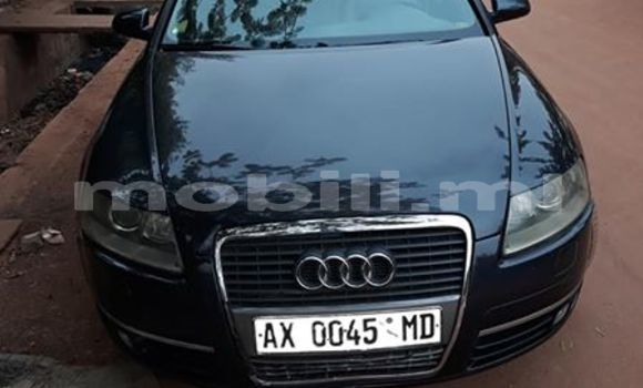 Acheter Occasion Voiture Audi A6 Noir à Bamako au Mali