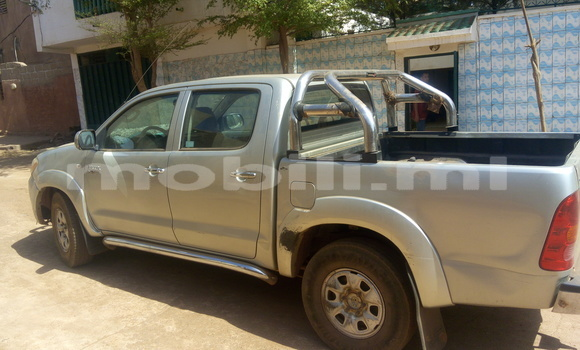 Acheter Occasion Voiture Toyota Hilux Gris à Bamako au Mali