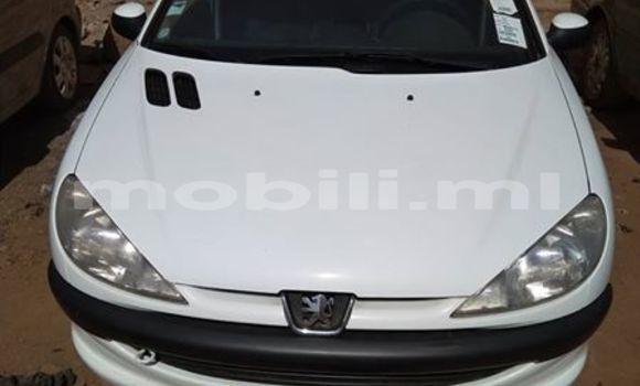 Acheter Occasion Voiture Peugeot 206 Blanc à Bamako, Mali